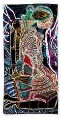 Dinka Bride Beach Towel