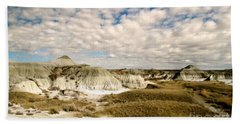 Dinosaur Badlands Beach Towel