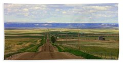Dirt Road To Forever Beach Towel