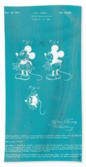 Disney Mickey Mouse Beach Towel