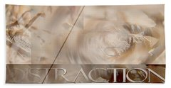Beach Towel featuring the photograph Distraction by Vicki Ferrari