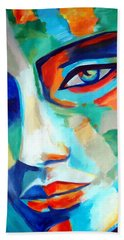 Divine Consciousness Beach Towel