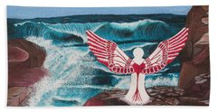 Beach Sheet featuring the painting Divine Power by Cheryl Bailey