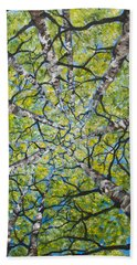 Dizzy Aspens Beach Towel