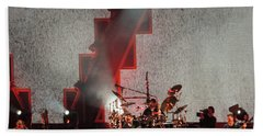 Beach Sheet featuring the photograph Dmb Members by Aaron Martens