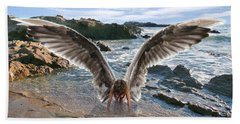 Do Not Fear I Have Come In Your Defense Beach Towel