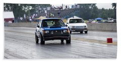 Dodge Omni Glh Vs Rwd Dodge Shadow - Without Times Beach Towel
