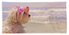 Dog Days Of Summer Beach Sheet by Andrea Auletta