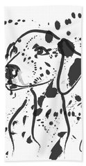 Dog Spot Beach Towel