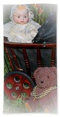 Doll And Teddy Beach Sheet