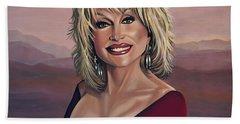 Dolly Parton 2 Beach Towel