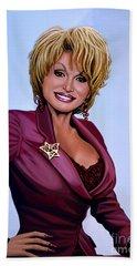 Dolly Parton Beach Towel