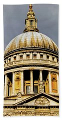 Dome Of St. Paul's Cathedral Beach Towel