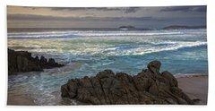 Beach Towel featuring the photograph Doninos Beach Ferrol Galicia Spain by Pablo Avanzini