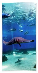 Beach Towel featuring the photograph Dont Worry It'll Grow Back by Patricia Griffin Brett
