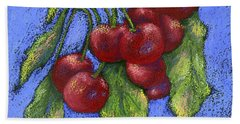 Door County Cherries Beach Towel