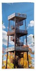 Door County Eagle Tower Peninsula State Park Beach Towel