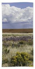 Dove Creek Fall Flowers Beach Towel