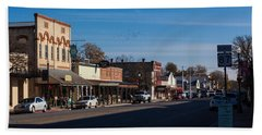 Downtown Boerne Beach Towel