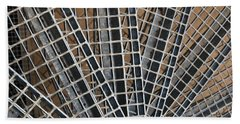 Beach Towel featuring the photograph Downward Spiral by Wendy Wilton