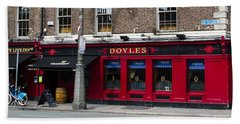 Doyles The Times We Live Inn - Dublin Ireland Beach Towel