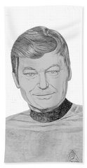 Dr. Leonard Mccoy Beach Towel