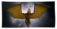Dragon Rider Beach Towel