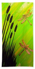 Dragonfly Dreams Beach Sheet