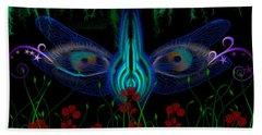 Dragonfly Eyes Series 6 Final Beach Sheet