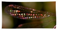 Dragonfly Jewels Beach Towel