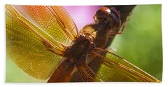 Dragonfly Patterns Beach Towel