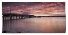 Drawbridge At Dusk Beach Towel