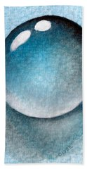Dream Of A Water Droplet Beach Towel