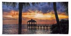 Dream Pier Beach Towel by Hanny Heim