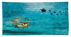 Dreaming Mermaid Beach Towel