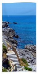 Dreaming Of A Sailboat Beach Sheet