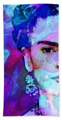 Dreaming Of Frida - Art By Sharon Cummings Beach Towel