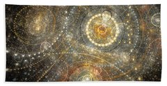 Dreamy Orrery Beach Sheet by Martin Capek