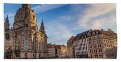 Dresden Frauenkirche Beach Towel