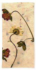 Dried Flowerrs 1 Beach Sheet
