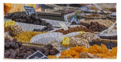 Dried Fruits Beach Towel