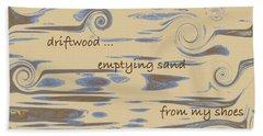 Driftwood Haiga Beach Towel by Judi Suni Hall