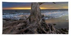 Driftwood On Jekyll Island Beach Towel