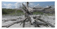 Driftwood Tree Beach Towel