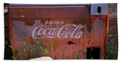 Drink Coca Cola Beach Towel
