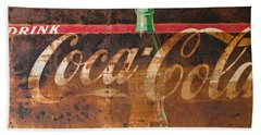 Drink Coca-cola Beach Towel