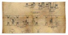 Drive Assembly Platform Beach Sheet