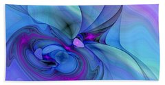 Driven To Abstraction Beach Towel