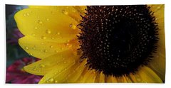 Drops Of Sunshine Beach Towel by Kristine Merc