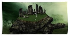 Druid Golf Beach Towel